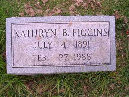 FIGGINS, KATHRYN  B - Brown County, Ohio | KATHRYN  B FIGGINS - Ohio Gravestone Photos