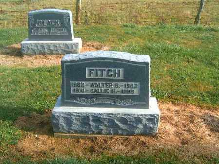FITCH, SALLIE  H - Brown County, Ohio | SALLIE  H FITCH - Ohio Gravestone Photos