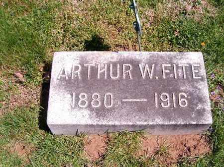 FITE, ARTHUR  W - Brown County, Ohio | ARTHUR  W FITE - Ohio Gravestone Photos