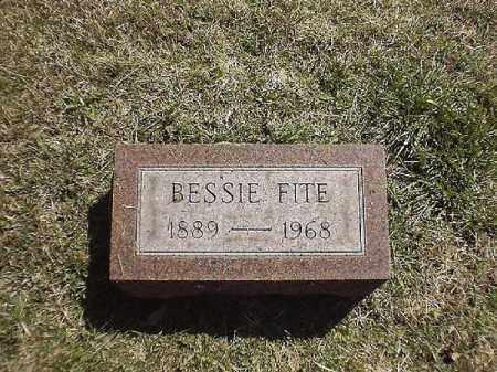 FITE, BESSIE - Brown County, Ohio   BESSIE FITE - Ohio Gravestone Photos