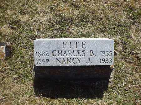 FITE, CHARLES  B - Brown County, Ohio | CHARLES  B FITE - Ohio Gravestone Photos