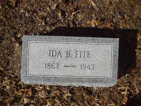 FITE, IDA - Brown County, Ohio | IDA FITE - Ohio Gravestone Photos