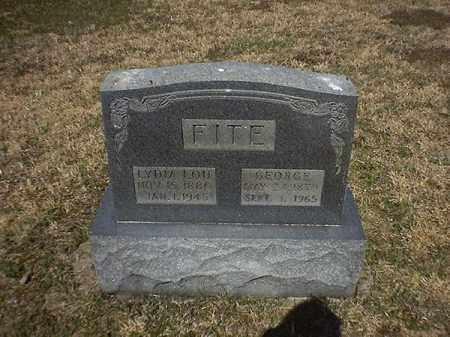 FITE, LYDIA  LOU - Brown County, Ohio | LYDIA  LOU FITE - Ohio Gravestone Photos