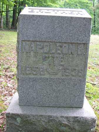 FITE, NAPOLEON B - Brown County, Ohio | NAPOLEON B FITE - Ohio Gravestone Photos