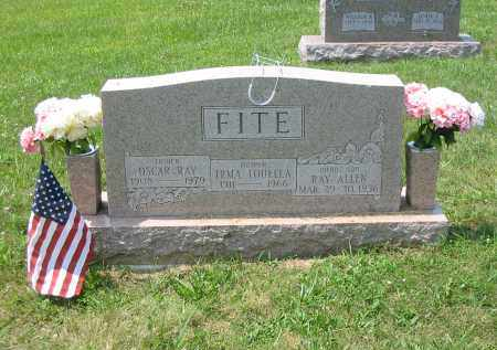FITE, IRMA LOUELLA - Brown County, Ohio | IRMA LOUELLA FITE - Ohio Gravestone Photos