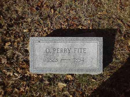 FITE, O  PERRY - Brown County, Ohio   O  PERRY FITE - Ohio Gravestone Photos