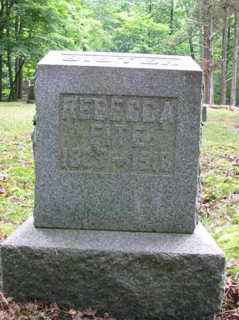 FITE, REBECCA - Brown County, Ohio | REBECCA FITE - Ohio Gravestone Photos