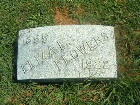 FLOWERS, ELIZA   E - Brown County, Ohio   ELIZA   E FLOWERS - Ohio Gravestone Photos