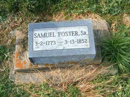 FOSTER, SAMUEL  SR - Brown County, Ohio | SAMUEL  SR FOSTER - Ohio Gravestone Photos
