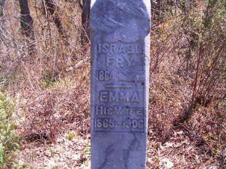 FRY, ISRAEL - Brown County, Ohio | ISRAEL FRY - Ohio Gravestone Photos
