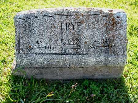FRY, WILLIAM HENRY - Brown County, Ohio | WILLIAM HENRY FRY - Ohio Gravestone Photos
