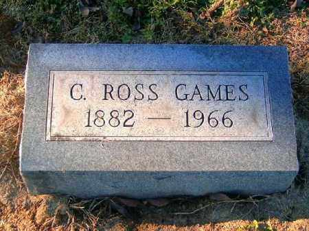 GAMES, C  ROSS - Brown County, Ohio | C  ROSS GAMES - Ohio Gravestone Photos