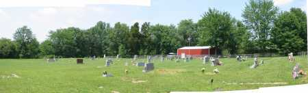 GREENBUSH CEMETERY, PANORAMIC VIEW - Brown County, Ohio   PANORAMIC VIEW GREENBUSH CEMETERY - Ohio Gravestone Photos