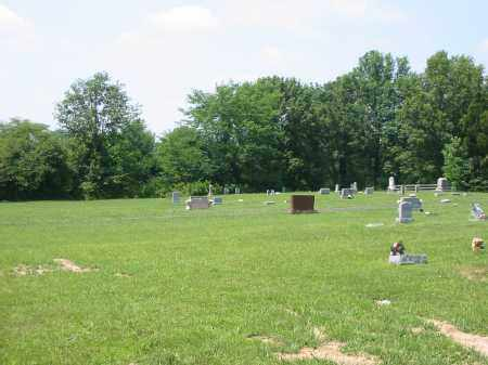 GREENBUSH CEMETERY, VIEW 1- NORTHWARD - Brown County, Ohio | VIEW 1- NORTHWARD GREENBUSH CEMETERY - Ohio Gravestone Photos