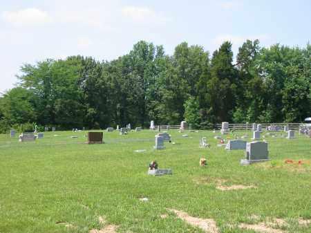 GREENBUSH CEMETERY, VIEW 2- NORTHNORTHEAST - Brown County, Ohio   VIEW 2- NORTHNORTHEAST GREENBUSH CEMETERY - Ohio Gravestone Photos