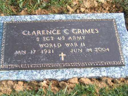 GRIMES, CLARENCE  C - Brown County, Ohio | CLARENCE  C GRIMES - Ohio Gravestone Photos