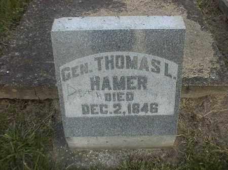 HAMER, THOMAS  L - Brown County, Ohio   THOMAS  L HAMER - Ohio Gravestone Photos