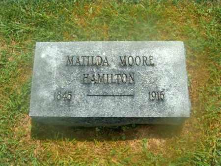 HAMILTON, MATILDA - Brown County, Ohio | MATILDA HAMILTON - Ohio Gravestone Photos