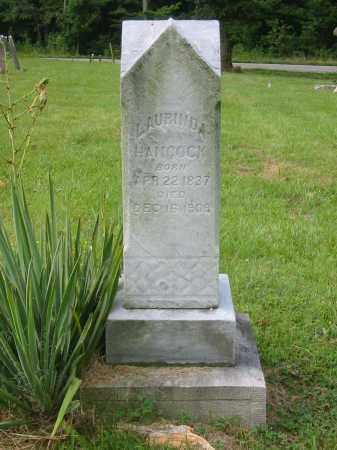 HANCOCK, LAURINDA - Brown County, Ohio | LAURINDA HANCOCK - Ohio Gravestone Photos