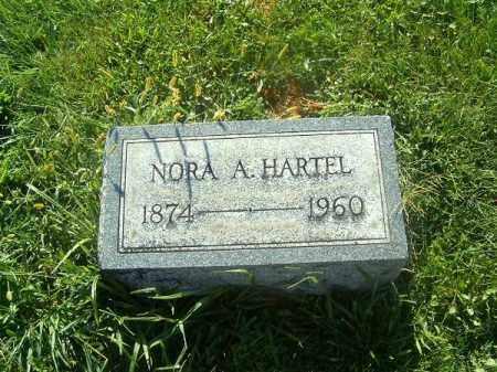 HARTEL, NORA  A - Brown County, Ohio | NORA  A HARTEL - Ohio Gravestone Photos
