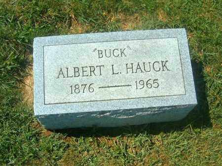 HAUCK, ALBERT - Brown County, Ohio   ALBERT HAUCK - Ohio Gravestone Photos
