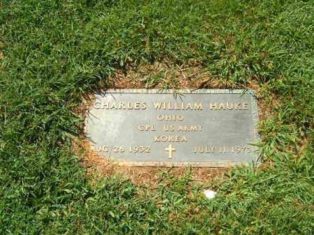 HAUKE, CHARLES  WILLIAM - Brown County, Ohio   CHARLES  WILLIAM HAUKE - Ohio Gravestone Photos