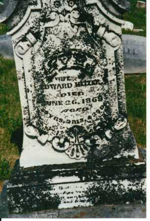 HEIZER, IVY - Brown County, Ohio   IVY HEIZER - Ohio Gravestone Photos