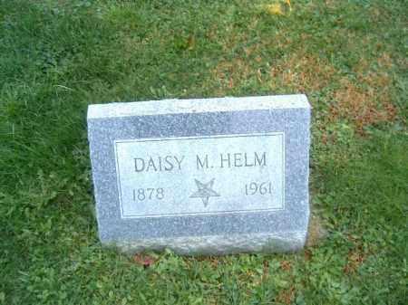 HELM, DAISY  M - Brown County, Ohio   DAISY  M HELM - Ohio Gravestone Photos