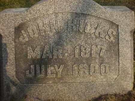 HICKS, JOHN - Brown County, Ohio | JOHN HICKS - Ohio Gravestone Photos