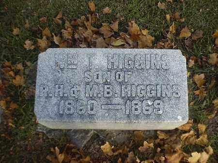 HIGGINS, WM  T - Brown County, Ohio | WM  T HIGGINS - Ohio Gravestone Photos