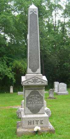 HITE, NOAH - Brown County, Ohio | NOAH HITE - Ohio Gravestone Photos