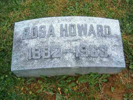 HOWARD, ROSA - Brown County, Ohio | ROSA HOWARD - Ohio Gravestone Photos