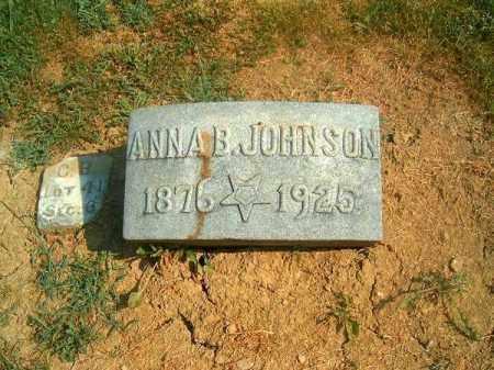JOHNSON, ANNA  B - Brown County, Ohio | ANNA  B JOHNSON - Ohio Gravestone Photos