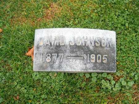 JOHNSON, DAVID - Brown County, Ohio   DAVID JOHNSON - Ohio Gravestone Photos