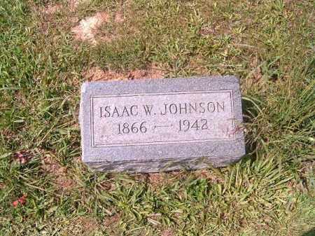 JOHNSON, ISAAC  W - Brown County, Ohio   ISAAC  W JOHNSON - Ohio Gravestone Photos