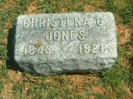 JONES, CHRISTENA  G - Brown County, Ohio | CHRISTENA  G JONES - Ohio Gravestone Photos