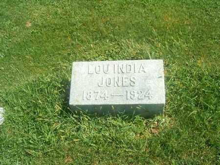 JONES, LOUINDIA - Brown County, Ohio | LOUINDIA JONES - Ohio Gravestone Photos