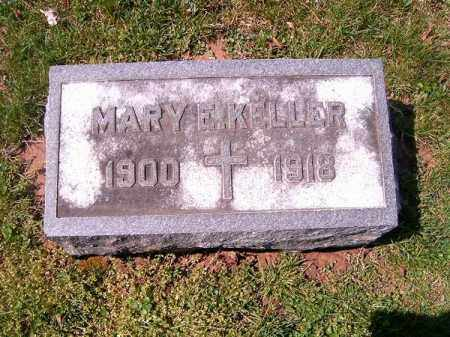 KELLER, MARY  F - Brown County, Ohio | MARY  F KELLER - Ohio Gravestone Photos