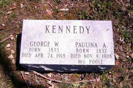KENNEDY, GEORGE  W - Brown County, Ohio | GEORGE  W KENNEDY - Ohio Gravestone Photos