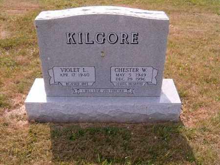 KILGORE, CHESTER  W - Brown County, Ohio | CHESTER  W KILGORE - Ohio Gravestone Photos