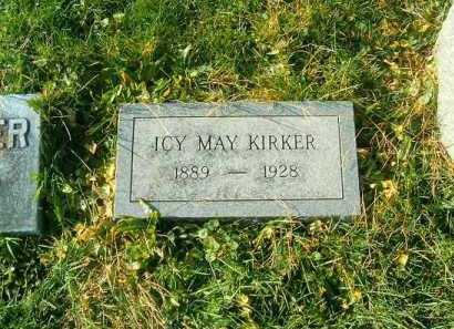 KIRKER, ICY  MAY - Brown County, Ohio | ICY  MAY KIRKER - Ohio Gravestone Photos