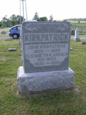 KIRKPATRICK, JOHN - Brown County, Ohio   JOHN KIRKPATRICK - Ohio Gravestone Photos
