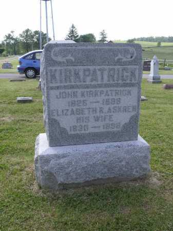 KIRKPATRICK, JOHN - Brown County, Ohio | JOHN KIRKPATRICK - Ohio Gravestone Photos