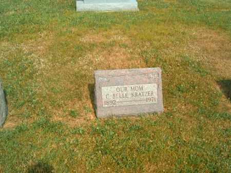 KRATZER, C  BELLE - Brown County, Ohio | C  BELLE KRATZER - Ohio Gravestone Photos