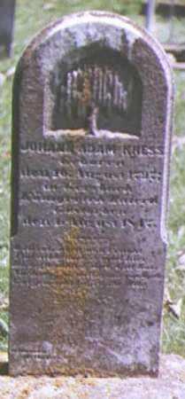 KRESS, JOHANN - Brown County, Ohio | JOHANN KRESS - Ohio Gravestone Photos