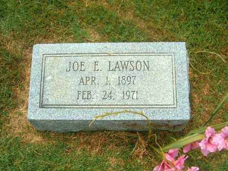 LAWSON, JOE E - Brown County, Ohio | JOE E LAWSON - Ohio Gravestone Photos