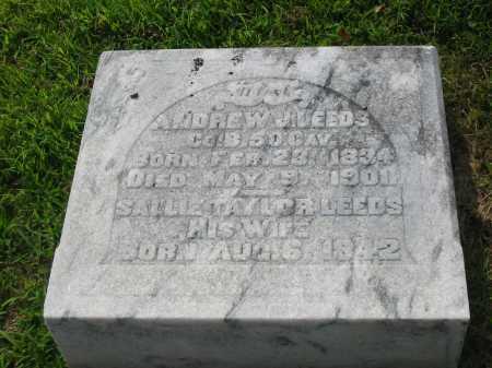 LEEDS, SALLIE - Brown County, Ohio | SALLIE LEEDS - Ohio Gravestone Photos