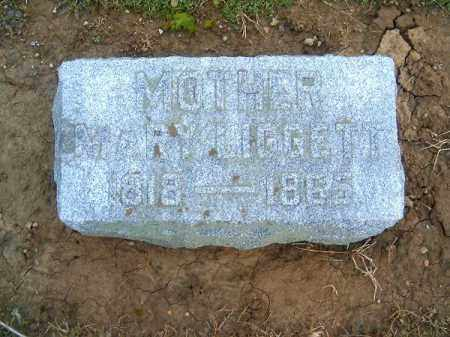 LIGGETT, MARY - Brown County, Ohio | MARY LIGGETT - Ohio Gravestone Photos
