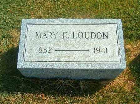 LOIDON, MARY  E - Brown County, Ohio | MARY  E LOIDON - Ohio Gravestone Photos