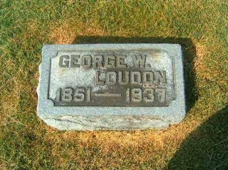 LOUDON, GEORGE  W - Brown County, Ohio | GEORGE  W LOUDON - Ohio Gravestone Photos